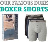 Boxershort katoen tot 8XL Duke 3 pack_