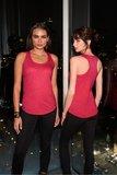 Dames hemd racerback polyester/katoen Anvil_