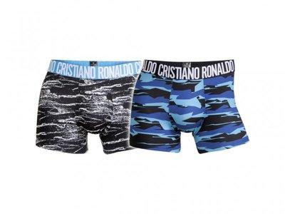 Boxershort polyester/elasthan CR 7 2 pack