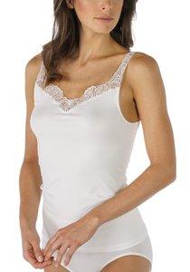 Dames hemd met smalle band/kant polyamide/elasthan Mey