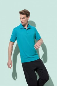 Sport polo polyester active dry Stedman