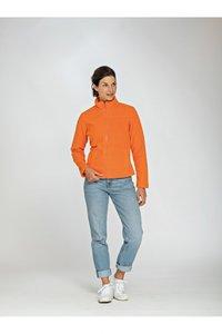 Dames fleece sweater polyester Lemon